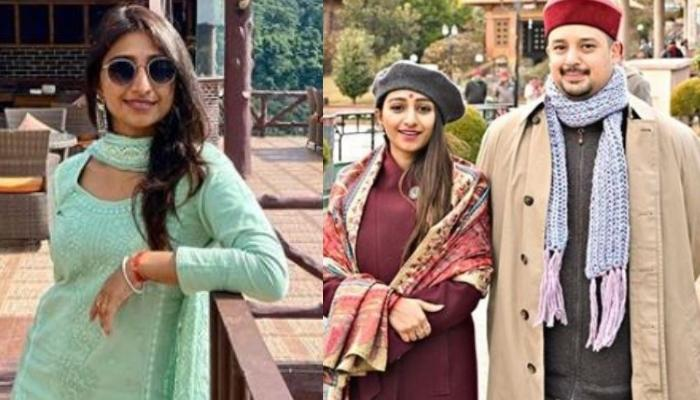 Mohena Kumari Singh's Sunkissed Picture With Hubby, Suyesh Rawat From Their Mussoorie Getaway