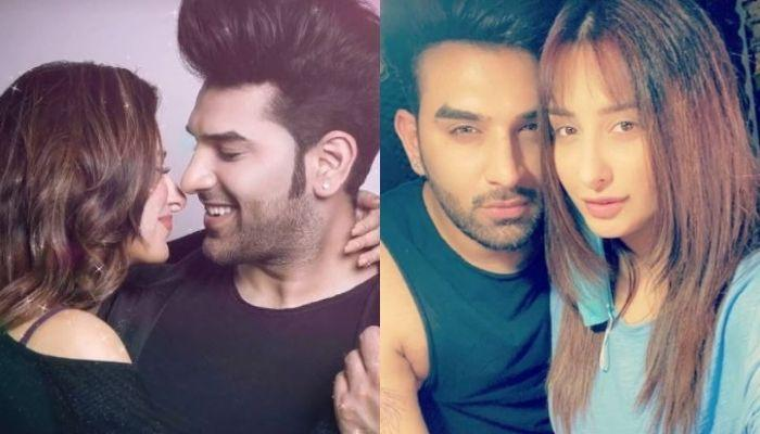 Paras Chhabra And Mahira Sharma Complete One Year Of Togetherness, Seal It With A Kiss [Video]
