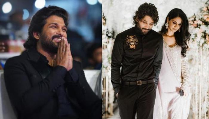 Allu Arjun Wishes Wife, Sneha Reddy On Her Birthday, Calls Her, 'Most Special Person Of His Life'