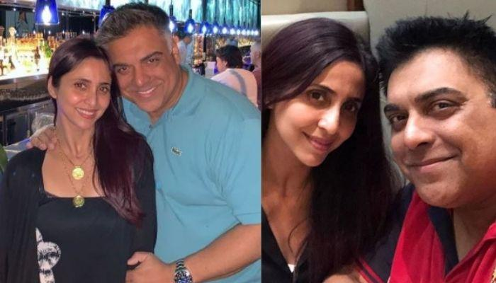 Ram Kapoor Shares An Old Picture With Wife, Gautami, Exuding New Couple Vibes In 2000s Fashion