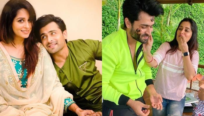 Dipika Kakar Ibrahim Shares A Hilarious Picture Of Her Hubby, Shoaib Ibrahim Forcing Her To Jog