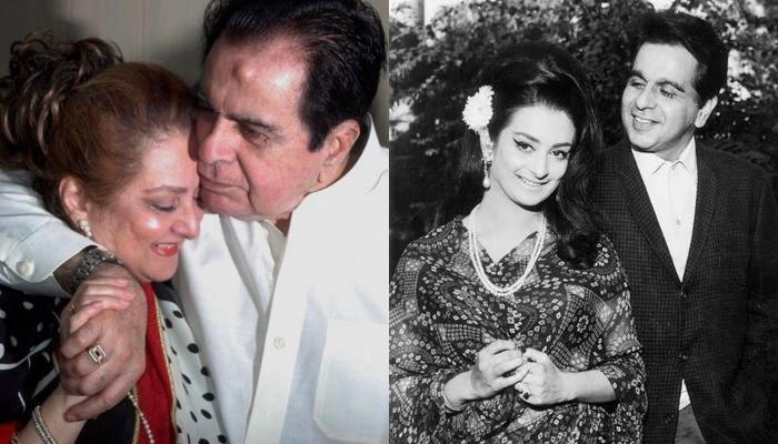 Dilip Kumar Shares A Mesmerising Picture With Wife, Saira Banu In His 'Favourite Pink' Shirt