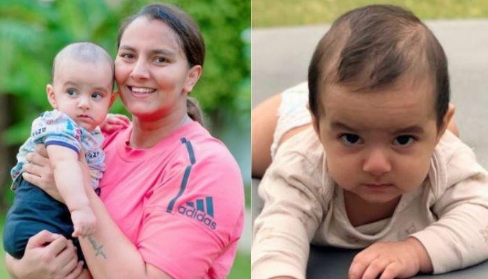 Geeta Phogat's Son, Arjun Is Ready For 'Dangal', Makes His First Move In 'Akhada' [Pictures Inside]