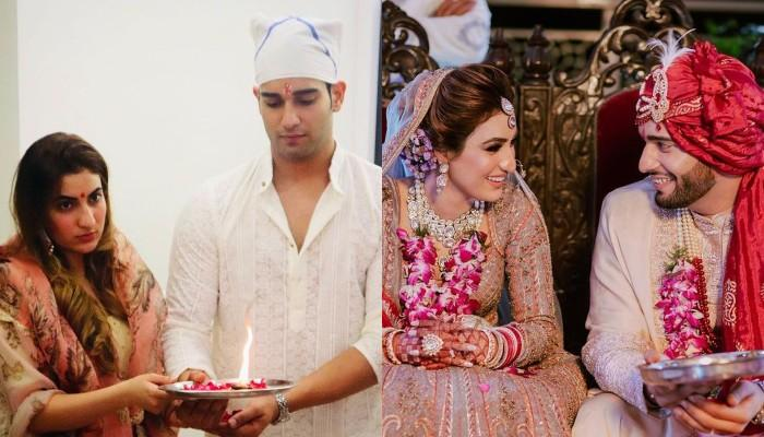 Abhishek Malik Keeps First Karwa Chauth Fast For His Wife, Suhani Choudhary, Latter Shares A Picture