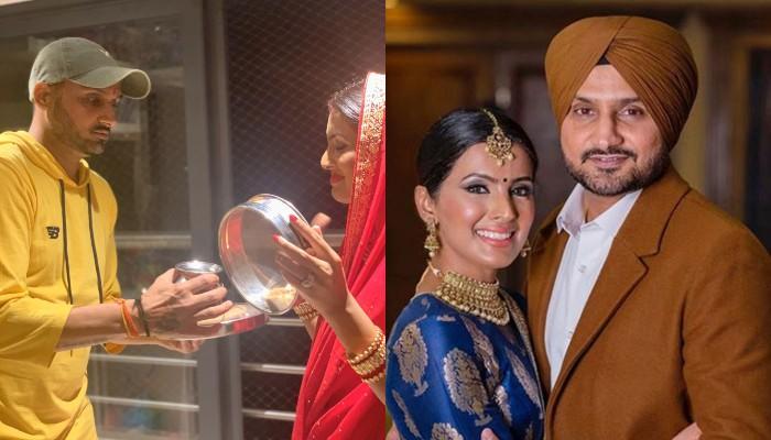 Harbhajan Singh Misses His Wife, Geeta Basra On Karwa Chauth, Shares Glimpse Of Virtual Celebrations