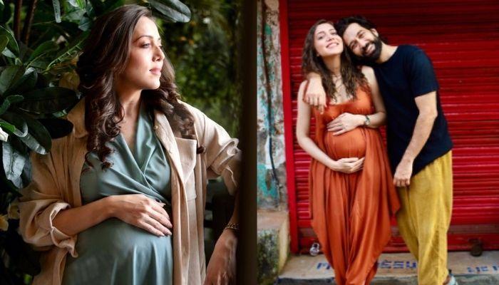 'Ishqbaaaz' Fame, Nakuul Mehta's Pregnant Wife, Jankee Flaunts Her Baby Bump In A White Monokini