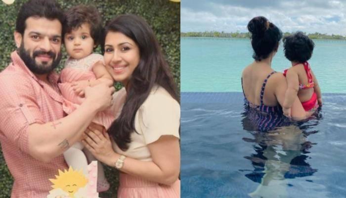 अंकिता भार्गव ने मालदीव वेकेशन से शेयर की बेटी के साथ की तस्वीरें, मोनोकिनी में दिखीं बिटिया रानी