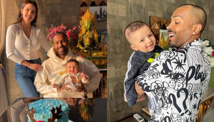 Hardik Pandya Shares A Happy Picture With Agastya, The Little Munchkin Smiles Exactly Like His Daddy