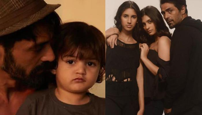 'Nail Polish' Actor, Arjun Rampal Reveals The Bond His Daughters Share With Their Step-Brother, Arik