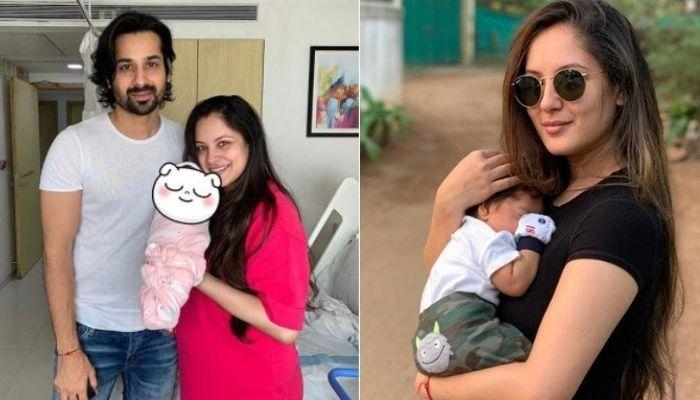 Puja Banerjee And Kunal Verma's 3-Months-Old Son Krishiv's First Ever Full Picture With His Parents