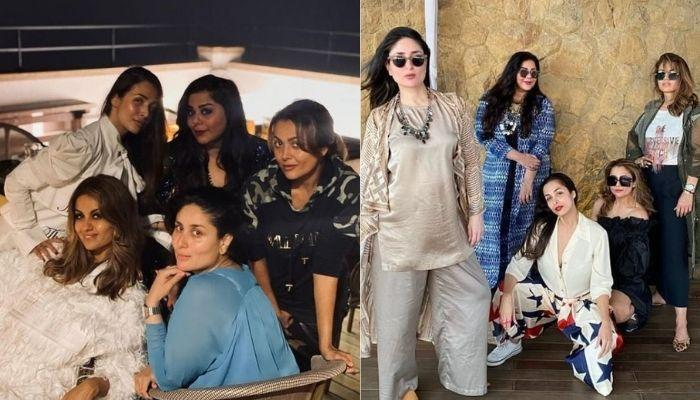 Kareena Kapoor Repeats Her Kaftan For The Last Party With Her BFFs Before Moving To Her New Home