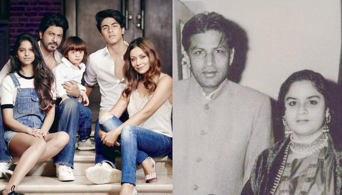 Shah Rukh Khan's Fanmade Family Portrait With His Late Parents, Wife, Sister, And Kids Is Unmissable