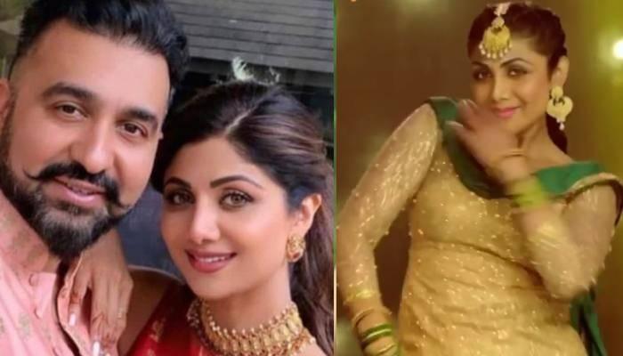 शिल्पा शेट्टी का फनी वीडियो शेयर कर राज कुंद्रा ने लिखा- 'अगर गांव की लड़की से शादी होती तो...'