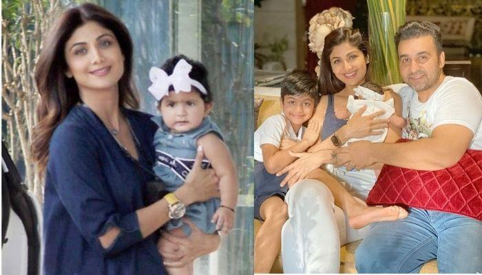 Shilpa Shetty's Daughter, Samisha Celebrates Her First Lohri With Her Family, Enjoys Popcorn [Video]