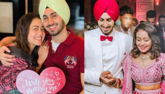 Newlyweds Neha Kakkar And Rohanpreet Singh Celebrate Their First Lohri, Her 'Chooda' Steals The Show