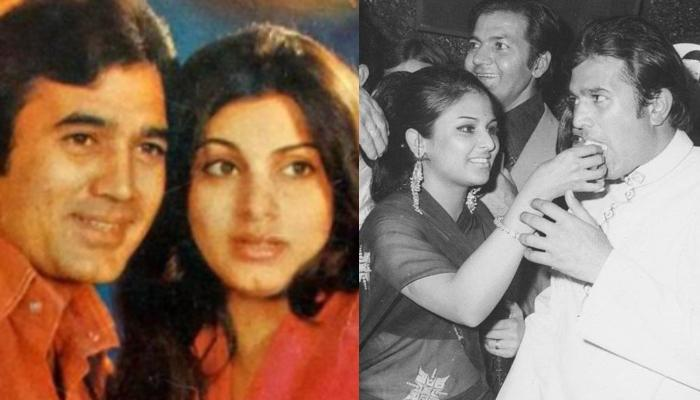 Rare Picture Of Dimple Kapadia Clicked With Rajesh Khanna's Ex-Girlfriend, Anju Mahendru At A Party