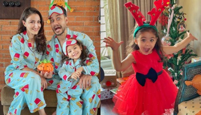 Soha Ali Khan And Kunal Kemmu Turn Into Competitive Parents As They Draw Unicorns For Inaaya