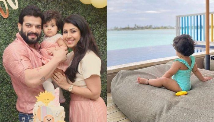Ankita Bhargava's Daughter Mehr's Pose Got All Our Attention In The Family Photo From The Maldives