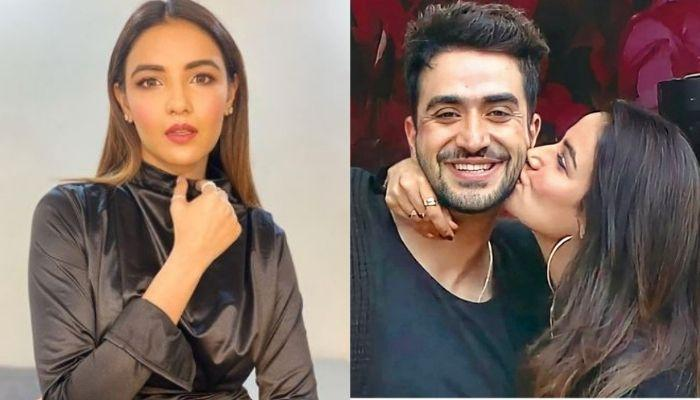Jasmin Bhasin Screams 'I Love Aly' To The Paps After Confessing Her Feelings For Aly Goni [Video]