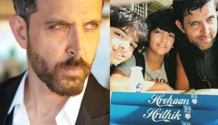 Hrithik Roshan Does This With His Sons Hridhaan And Hrehaan, Proves He's The Coolest Dad [See Video]
