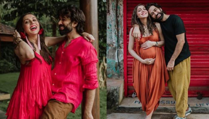 Nakuul Mehta Flaunts His Wife, Jankee Parekh's Pregnancy Glow And Baby Bump, She Calls Him 'Ma View'