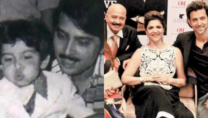 Unseen Childhood Picture Of Hrithik Roshan With His Paternal Family, His Innocent Look Is Unmissable