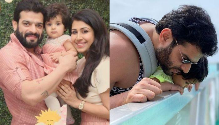 Karan Patel's Daughter, Mehr's Unseen Photo From The Maldives, Her Smile Is Exact Replica Of Her Dad