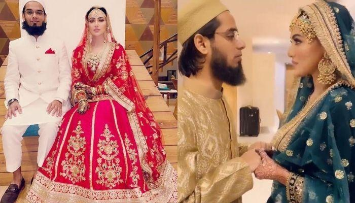 Sana Khan Lauds Husband For Always Pushing Her Towards The Good Irrespective Of The Situation