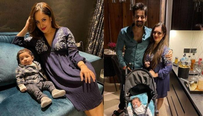 Puja Banerjee And Kunal Verma Take Their Little Boy, Krishiv For His First Outing [Pictures Inside]