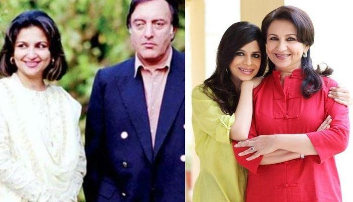 Sharmila Tagore Blushes In The Wedding Picture With Mansoor Ali Khan, Shared By Daughter, Saba