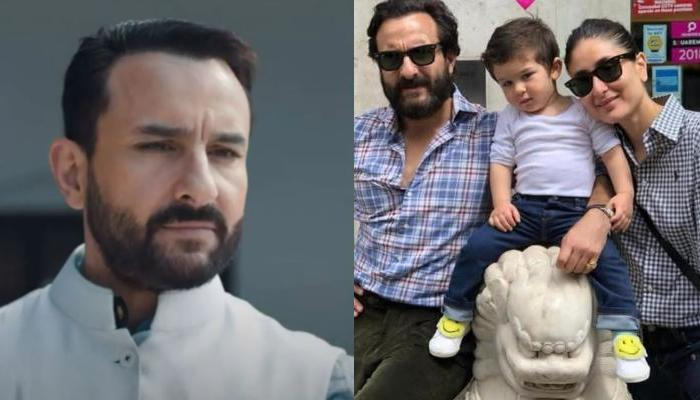 'Tandav' Actor, Saif Ali Khan Talks About Embracing Parenthood Again With Wife, Kareena Kapoor Khan