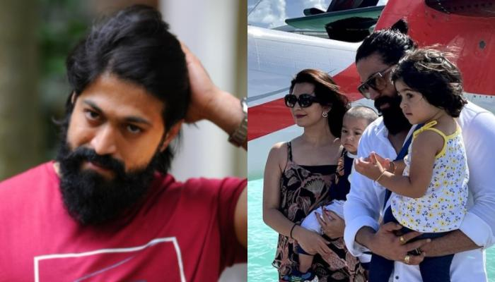 K.G.F. Star, Yash Shares Pictures With Radhika Pandit, Ayra And Yatharv From Their Maldives Vacation