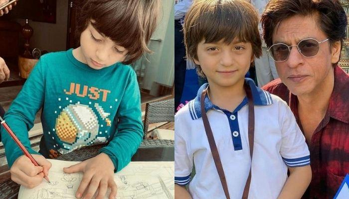 Shah Rukh Khan's Son, AbRam Khan Narrates A Hindi Poem In His Online Class In This Adorable Video