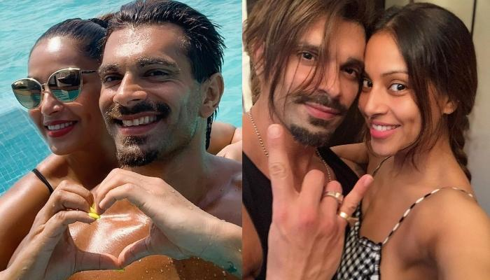 Bipasha Basu Praises Her Hubby, Karan Singh Grover's New Look, The Duo Twins In Black