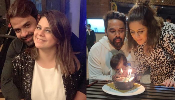 Rucha Gujarathi Celebrates Her Daughter, Aariana's Half Birthday, Cuts A Unique Cake