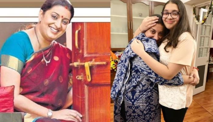 Smriti Irani Shares A Throwback Picture Of Daughter, Zoish As She Prepares For Her Board Exams
