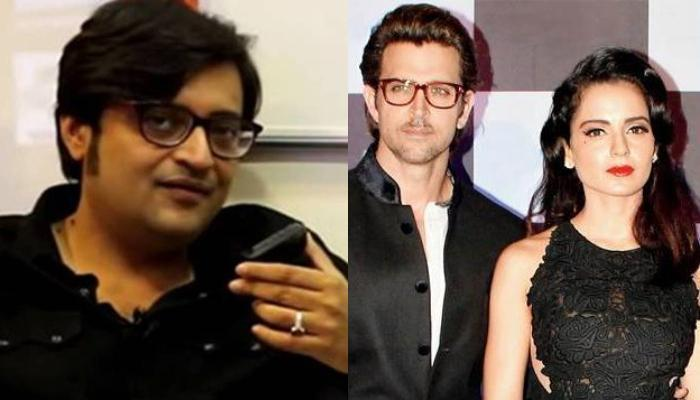 Kangana Ranaut Reacts To Arnab Goswami's Remark Calling Her 'Sexually Possessed' With Hrithik Roshan