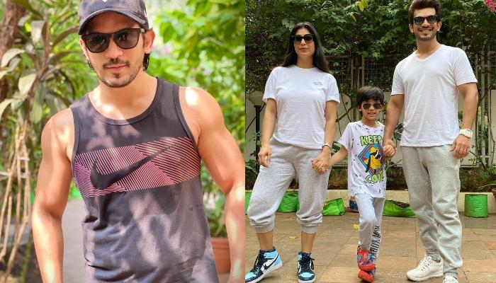 Arjun Bijlani Shares Adorable Family Pictures To Wish His Son, Ayaan On His Birthday