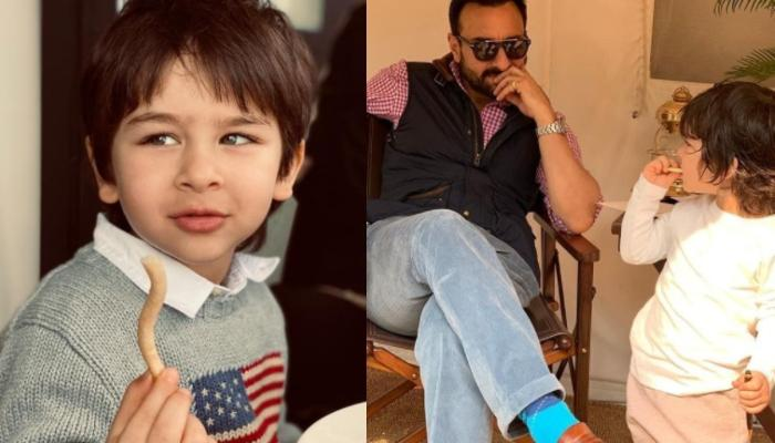 Taimur Ali Khan And Saif Ali Khan Look Their Coolest Best And Their Recent Pictures Are Proof Enough