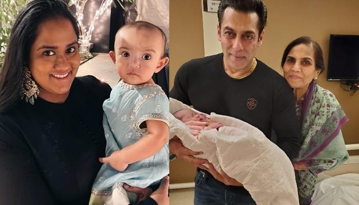 Arpita Khan Sharma Records Her Daughter, Ayat's Cute Video With 'Mamu', Salman Khan