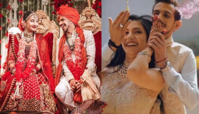 चहल और धनश्री की शादी को पूरा हुआ एक महीना, क्रिकेटर ने शेयर किया वेडिंग का अनदेखा वीडियो