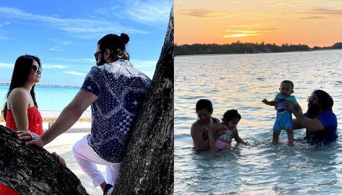 'KGF' स्टार यश ने मालदीव वेकेशन की शेयर कीं मजेदार तस्वीरें, समुद्र में मस्ती करते दिखा कपल