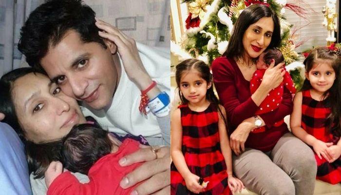 Karanvir Bohra Celebrates Wife, Teejay Sidhu's Birthday On Video Call With Their Newborn Daughter