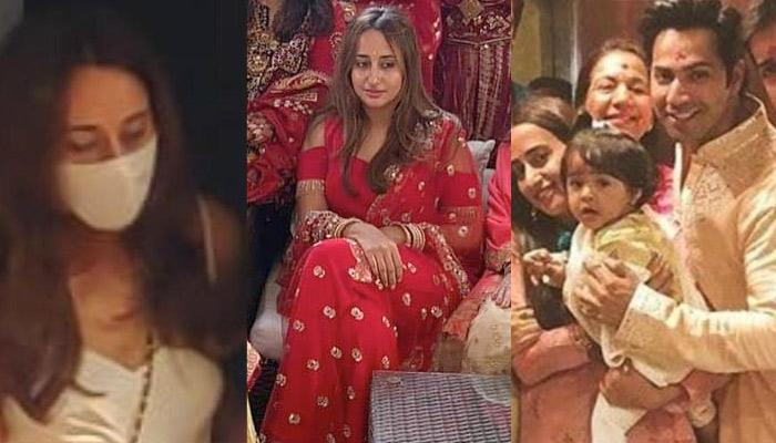 Varun Dhawan's 'Dulhaniya-To-Be', Natasha Dalal Heads To Her Wedding Venue With Her Family [Video]