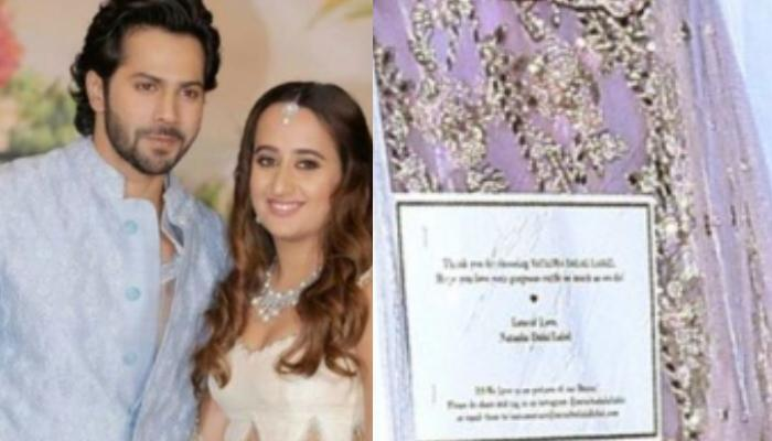 A Sneak Peek Of Natasha Dalal's Pre-Wedding Outfits From Her Much-Awaited Wedding With Varun Dhawan