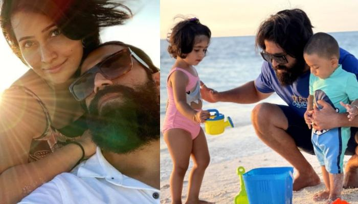 Yash And Radhika Pandit's Pictures From The Maldives With Ayra And Yatharv Will Make You Wanderlust