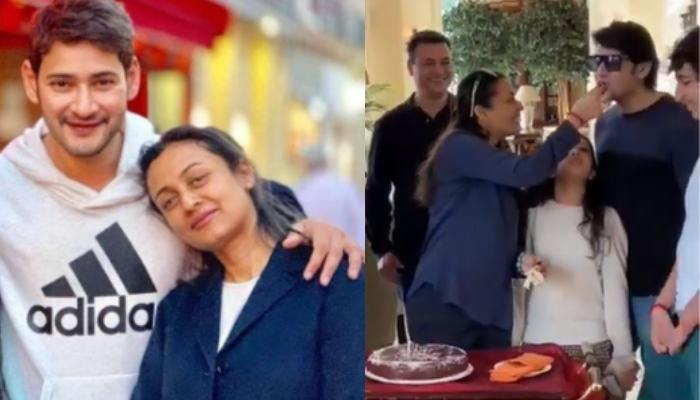 Namrata Shirodkar Shares Glimpses Of Her Birthday Celebrations With Mahesh Babu, Gautam And Sitara