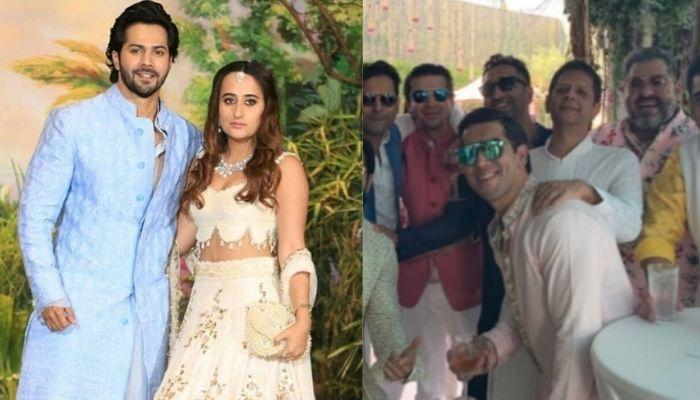 Varun Dhawan Looks Excited To Become A 'Dulha' In The First Inside Picture From The Wedding Venue