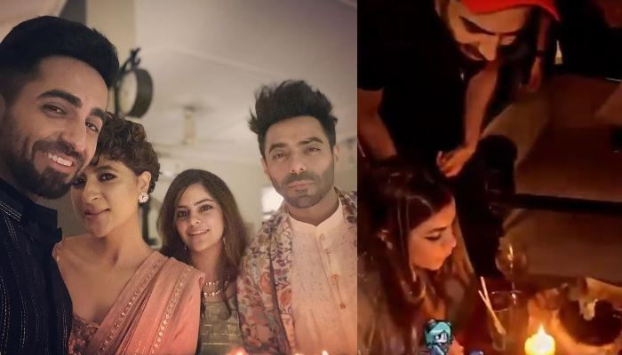 Ayushmann Khurrana And Tahira Kashyap Celebrate Aparshakti Khurana's Wife, Aakriti Ahuja's Birthday