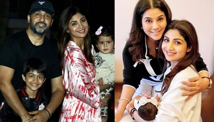 Shilpa Shetty Frames Little Ones, Samisha Shetty Kundra And Viaan Kundra's Hands And Feet Impression